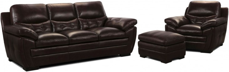 Targa Espresso Living Room Set
