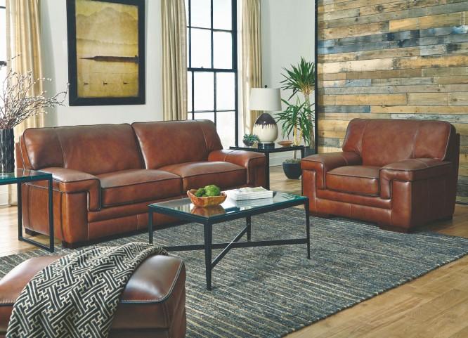 Macco Stampede Chestnut Living Room Set