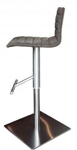 Jam Flirt Brown Stainless Steel Swivel stool