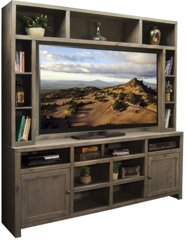 Joshua Creek Barnwood Entertainment Center