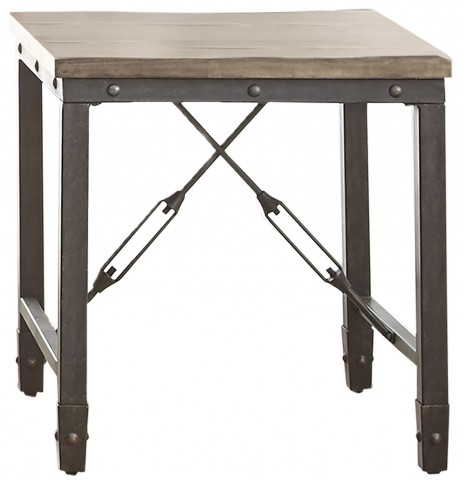 Jersey Antique Tobacco End Table