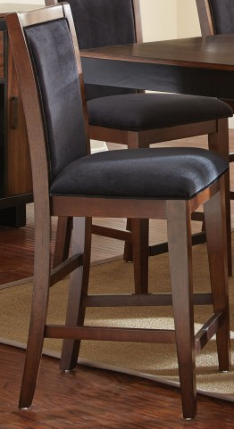 Julian Black Walnut Counter Chair Set of 2