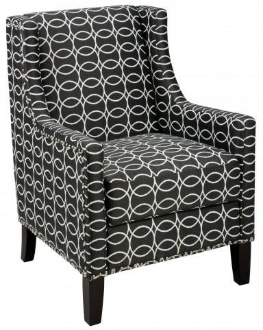 Josie Dark Charcoal Accent Chair