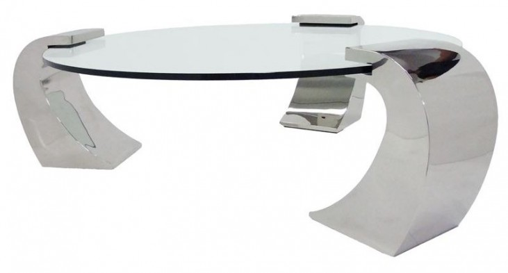 Katniss-R Glass Coffee Table