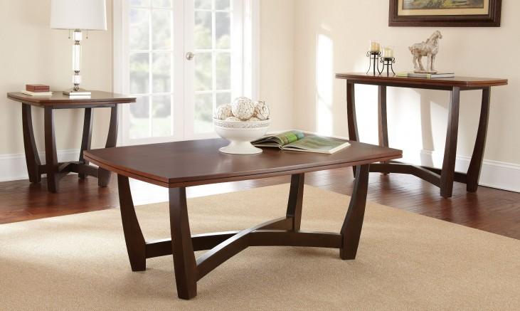 Kenzo Fruitwood Occasional Table Set