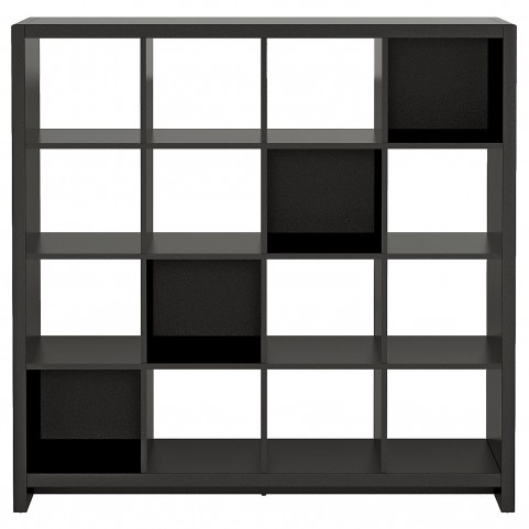 New York Skyline Modern Mocha 16-Cube Bookcase / Room Divider