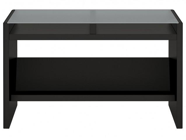 New York Skyline Modern Mocha Laptop Sofa Table