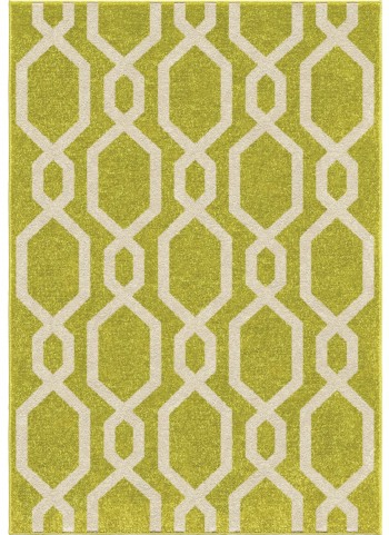 Orian Rugs Kids Trellis Niagra Green Area Small Rug