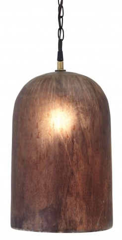 Glass Brown Pendant Light