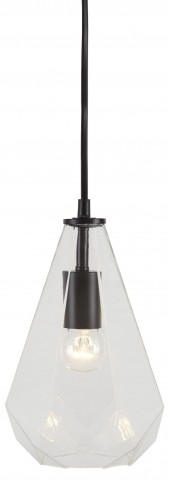 Ianna Clear Glass Celestial Pendant Light