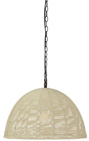 Jovan Natural Paper Rope Pendant Light