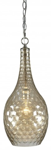 Avigail Champagne Glass Pendant Light