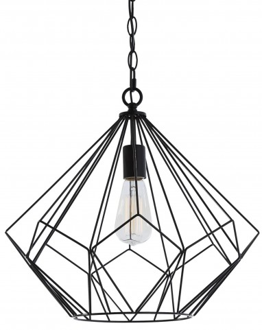 Mikndaro Black Metal Pendant Light