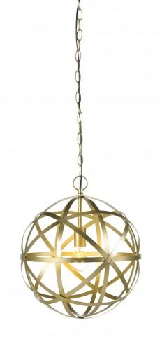 Jedidiah Gold Metal Pendant Light
