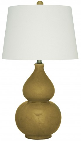 Saffi Golden Ceramic Table Lamp