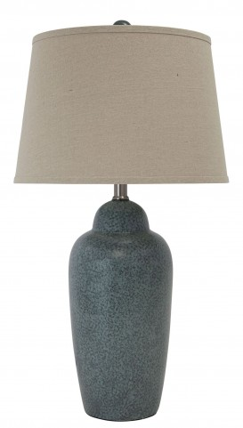 Green Ceramic Table Lamp