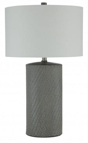 Shelleny Gray/Green Ceramic Table Lamp