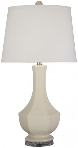 Suellen Cream Ceramic Table Lamp