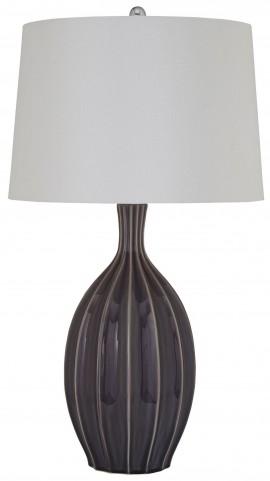 Dareh Gray Ceramic Table Lamp
