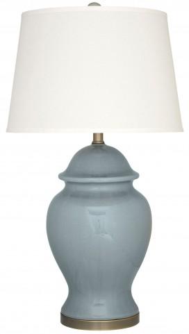 Darena Blue Ceramic Table Lamp