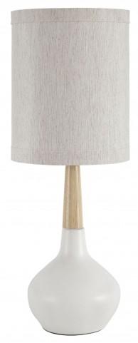 Stacia White Ceramic Table Lamp Set Of 2