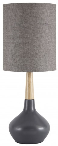 Stacia Gray Ceramic Table Lamp Set Of 2