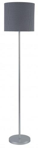 Stevonne Silver Metal Floor Lamp