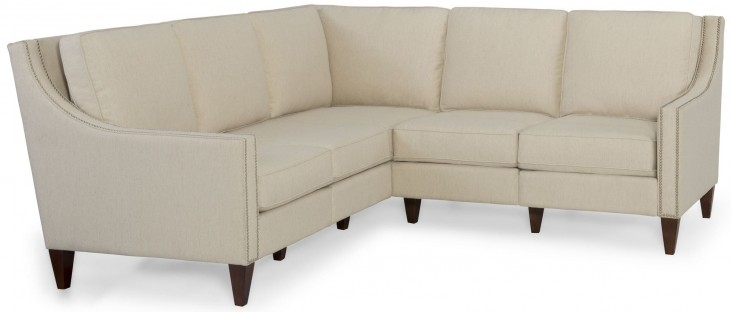 Leo Linen Small Sectional