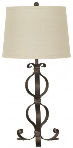 Simeron Metal Table Lamp Set of 2