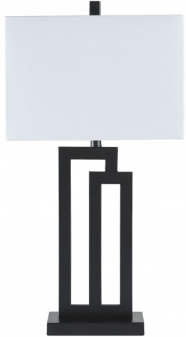Darnell Black Metal Table Lamp