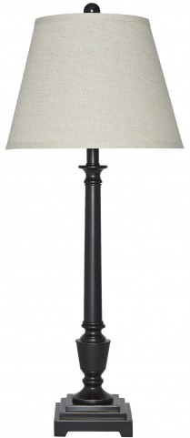 Darshan Bronze Metal Table Lamp