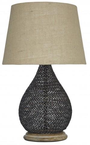 Aimon Bronze Metal Table Lamp