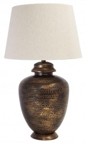 Antique Brass Metal Table Lamp