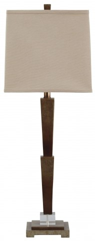 Malachy Gold Poly Table Lamp