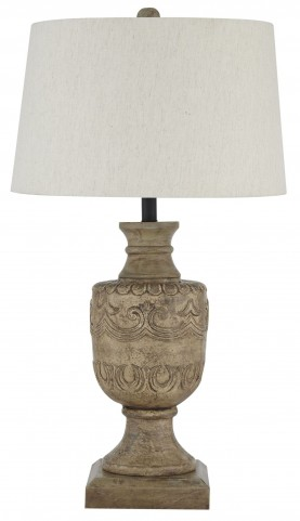 Natural Table Lamp