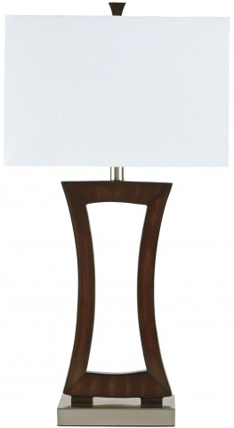 Danon Brown Poly Table Lamp
