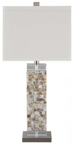 Tahira Cream Shell Table Lamp
