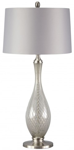 Samanthee Gray Glass Table Lamp