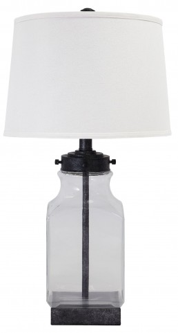 L430144 Glass Table Lamp