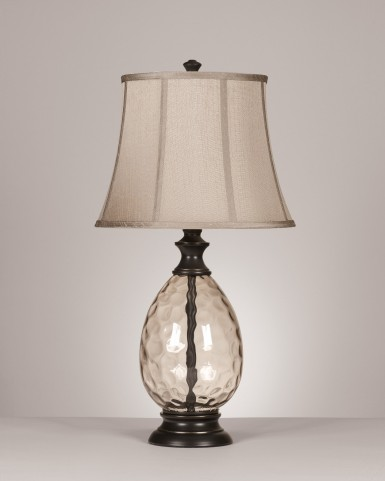 Olivia Glass Table Lamp Set of 2