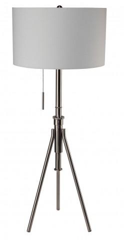 Zaya Silver Floor Lamp