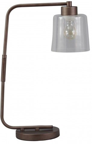 Kyron Bronze Metal Desk Lamp
