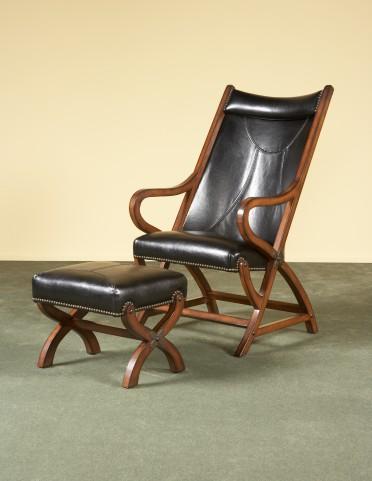 Palmer Chair & Ottoman