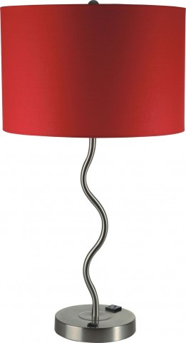 Sprig Red Table Lamp Set of 2