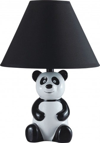 Pando Black Panda Table Lamp