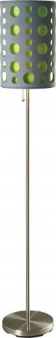 Hoolie Gray And Green Floor Lamp