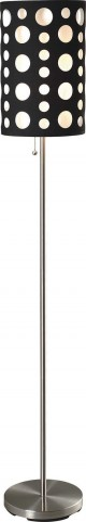 Hoolie Black And White Floor Lamp