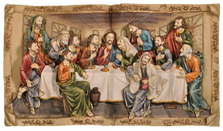 "Divina 19.75"" Last Supper Plaque"