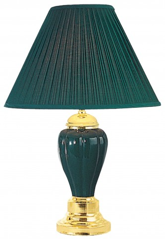 Hunter Green Table Lamp Set of 6