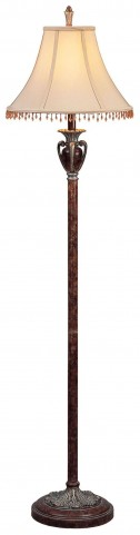 Sheryl Antique Copper Floor Lamp Set of 2